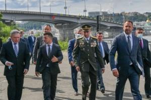 Präsident Selenskyj stellt neuen Chef des Militärnachrichtendienstes vor