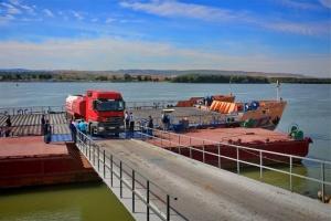 ウクライナ・ルーマニア間に河川国境通過用フェリーが就航