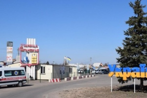 Mobile COVID-19 testing site opens near checkpoint in Stanytsia Luhanska