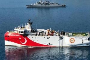 Турецьке судно знову прийшло на розвідку вуглеводнів у східне Середземномор'я