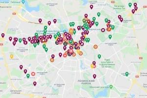 Google створив інтерактивну мапу протестів у Мінську