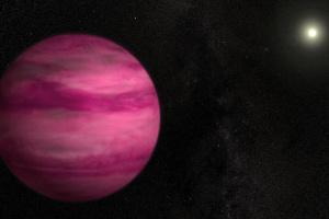 NASA показало огромную планету необычного цвета