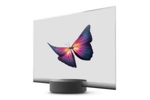 Xiaomi представила телевизор с прозрачным дисплеем