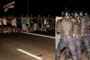 Беларусь-2020: Садистское подавление первой волны протеста