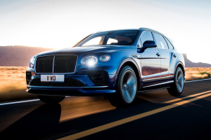 Bentley представив найшвидший кросовер у світі