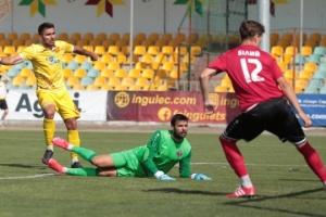 Сичинава - лучший футболист Первой украинской лиги по версии клубов