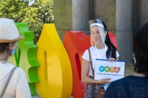 Безкоштовні піші екскурсії Києвом відвідали понад сто туристів