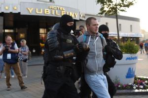 МВС Білорусі порушило понад 90 кримінальних справ проти мітингарів