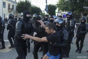 В Беларуси на протестах задержали уже больше 6,7 тысячи человек – МВД