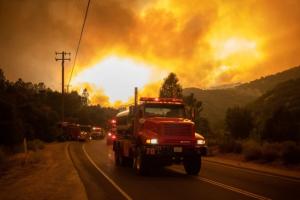 Біля Лос-Анджелеса згоріли щонайменше 4000 гектарів лісу