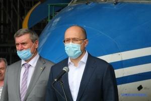 Shmygal: La construcción de aeronaves debería simbolizar el renacimiento de la industria