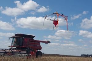 У США винайшли дрон, що засіває поле за вісім годин