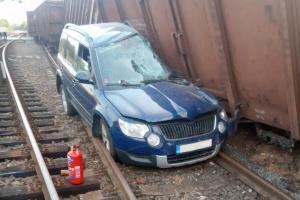 В Праге сошли с рельсов грузовые вагоны поезда