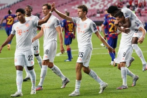 Ліга чемпіонів: «Баварія» розгромила «Барселону» і вийшла у півфінал