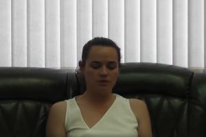 Єрмошина підтвердила, що заклик Тихановської не протидіяти міліції записали в ЦВК
