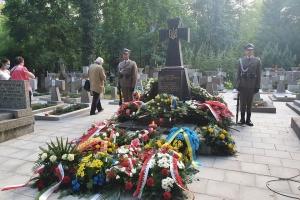 """""""Пламя братства"""": Стефанишина в Варшаве почтила память воинов УНР"""