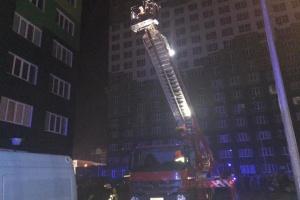 В Одессе горел 20-этажный дом