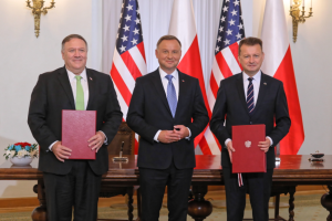 США і Польща підписали договір про військове співробітництво