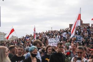 В Беларуси уже седьмой день люди выходят на протесты