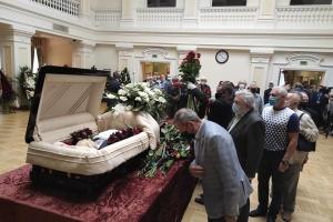 Trauerfeier für Borys Paton in Kyjiw