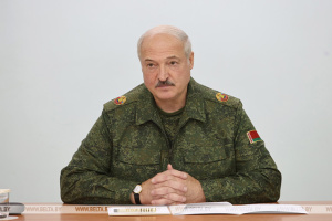 Лукашенко приказал закрыть границу Беларуси
