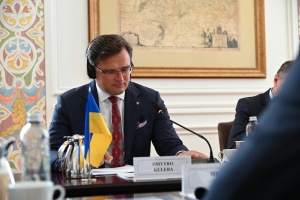 Foreign ministers of Ukraine and France discuss Russia's aggravation of security situation