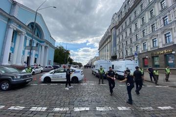 Un hombre amenaza con provocar una explosión en el centro de negocios Leonardo en Kyiv
