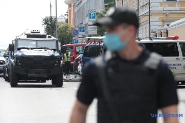 Bombendrohung in Kyjiw: Täter festgenommen