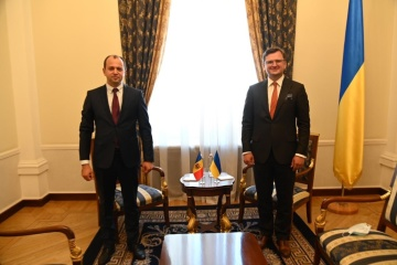 Foreign ministers of Ukraine and Moldova begin talks in Kyiv