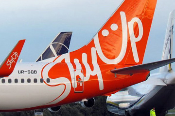 Occupancy rate on SkyUp's domestic flights is 62%