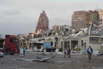 Liban: L'Ukraine est prête à envoyer des secours après les explosions à Beyrouth
