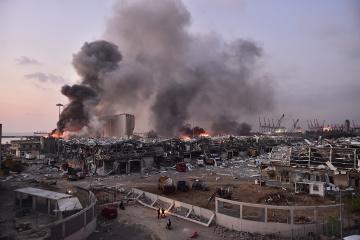 Kuleba: 30 ucranianos solicitan ayuda económica tras la explosión en Beirut