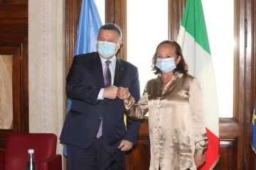 Ukraine, Italy to strengthen cooperation in combating transnational crime - Avakov
