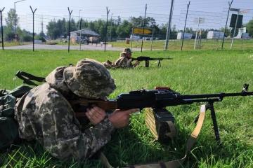 """Ukrainische Fallschirmjäger beteiligen sich an Manöver """"Saber Junction – 2020"""" in Deutschland"""