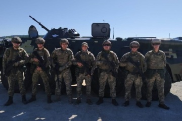 Ukrainian paratroopers participate in multinational exercise Saber Junction 20