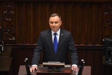 Andrzej Duda planuje przyjechać na Ukrainę w październiku