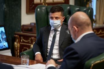 ゼレンシキー大統領、ベラルーシ情勢激化につき幹部会議開催