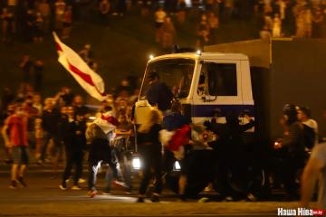 Exteriores: Nueve ucranianos detenidos durante las protestas en Belarús