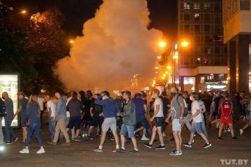 リトアニア、ポーランド、ウクライナの3国、ベラルーシ政権に対し暴力不使用を呼びかけ