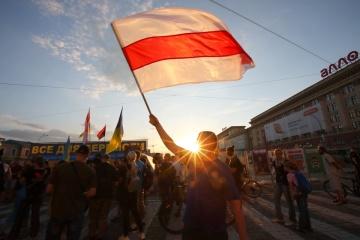 ウクライナ人ディアスポラ団体、ベラルーシにおける抗議者への暴力を非難