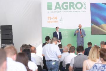 Inaugurada la exposición internacional AGRO 2020 en Kyiv