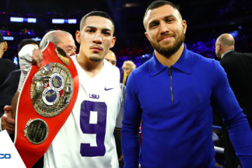 Lomachenko may give Lopez part of his purse