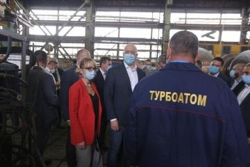 Shmygal: Turboatom demuestra que los productos ucranianos son competitivos