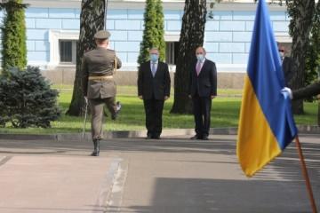 Secretario de Estado de Defensa de Reino Unido visita Ucrania