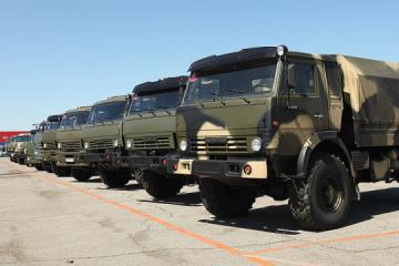 Inteligencia: Rusia traslada otro lote de equipo militar y dornes al Donbás