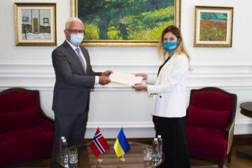 Ucrania y Noruega dispuestas a fortalecer la interacción dentro de la ONU