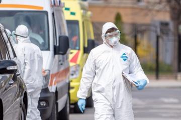 Na Ukrainie odnotowano 2495 nowych przypadków koronawirusa