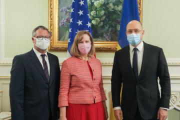 El primer ministro Shmygal espera una mayor cooperación con EE.UU.