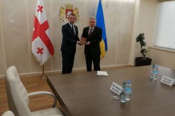 L'Ukraine et la Géorgie ont signé un programme de coopération militaire