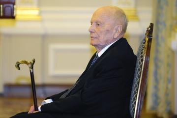 L'ambassade de France en Ukraine rend hommage à la mémoire de Borys Paton